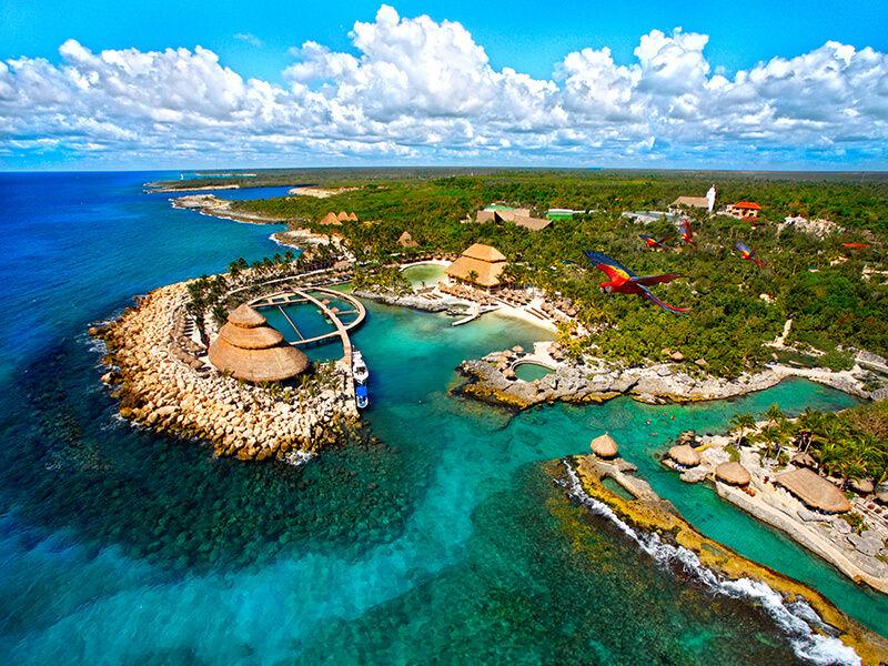 Xcaret Eco Theme Park Ariel Playa Del Carmen