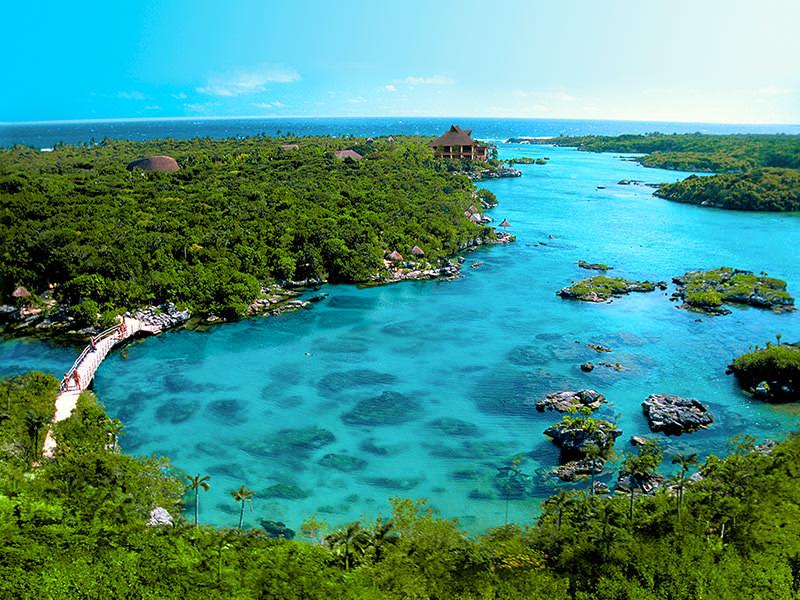 Xel-Ha Ariel Playa Del Carmen
