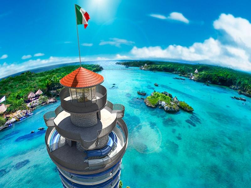 Xel-Ha Tower Playa Del Carmen
