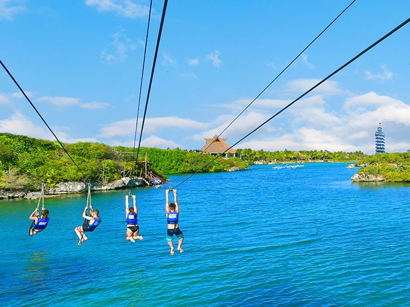 Xel-Ha Zip Line Playa Del Carmen